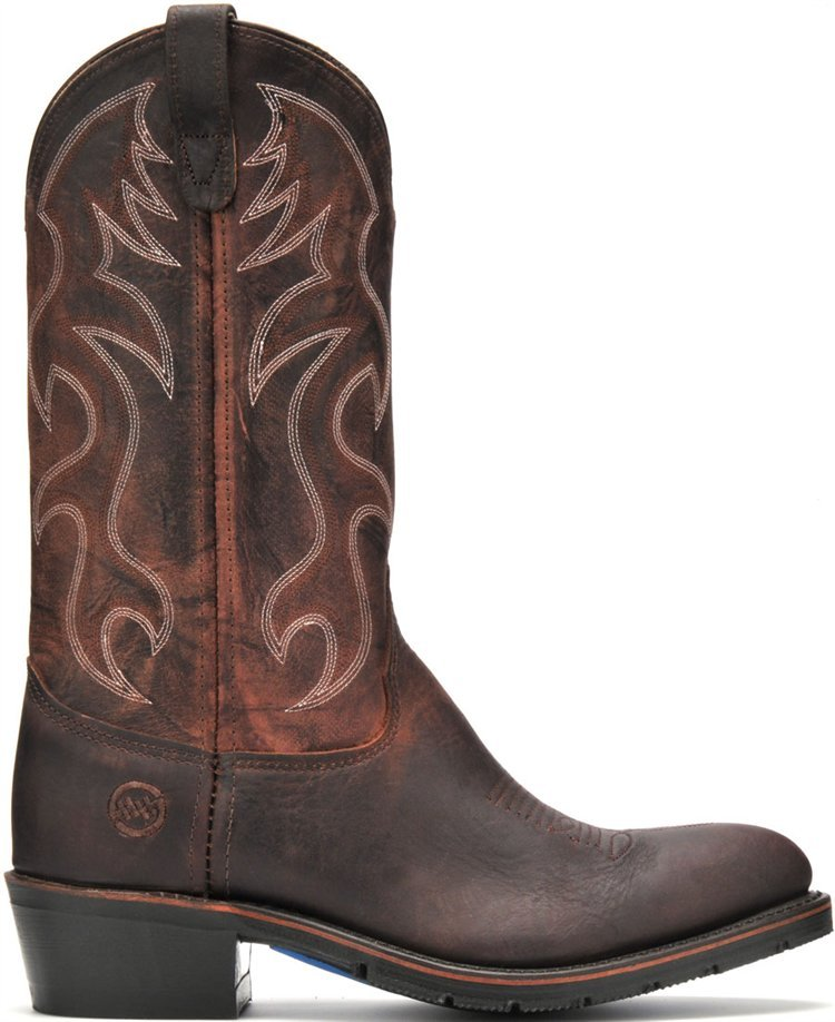 double h boots work western