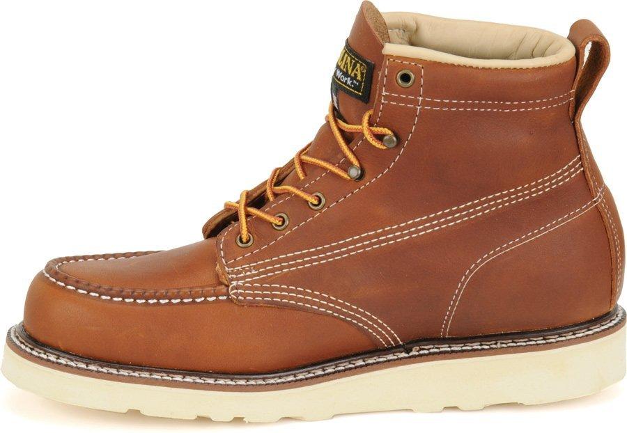 6 Domestic Moc Toe Wedge Work Boot - CA7003