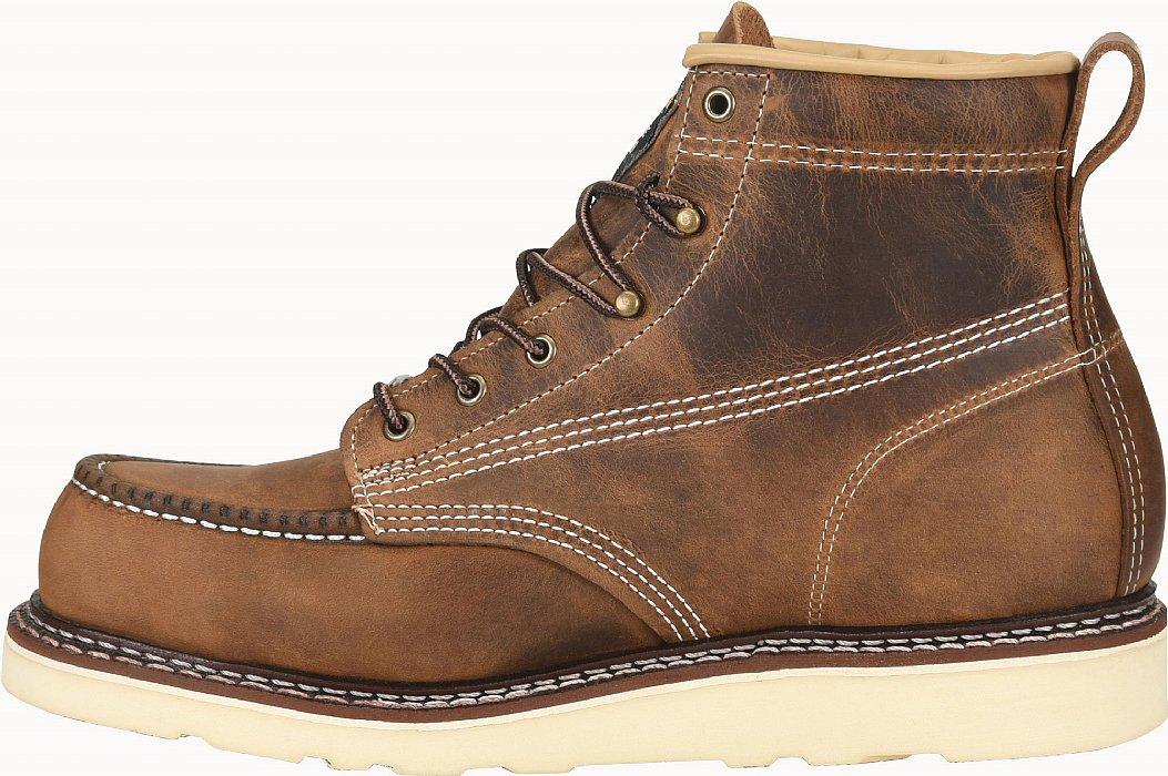 6 Domestic Moc Toe Wedge Work Boot - CA7011